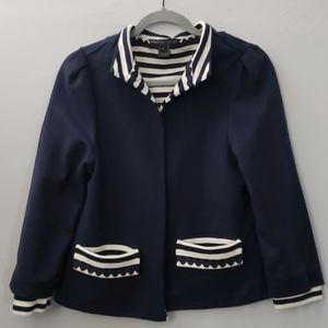 Marc By Marc Jacobs | Navy & Cream | Jacket | Sz L